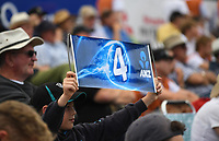 Fans.<br /> New Zealand Black Caps v England, ODI series, University Oval in Dunedin, New Zealand. Wednesday 7 March 2018. &copy; Copyright Photo: Andrew Cornaga / www.Photosport.nz
