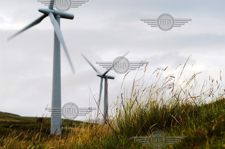 Lambrigg wind farm, which is owned by npower renewables, part of the RWE group.