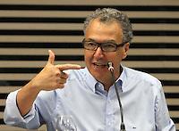 .ATENCAO EDITOR: FOTO EMBARGADA PARA VEICULO INTERNACIONAL - SAO PAULO, SP, 10 DEZEMBRO 2012 - A INFLUENCIA DO BRASIL NO SISTEMA INTERNACIONAL SOFT-POWER -  O publicitario Nizan Guanaes participou do debate sobre o soft power. A iniciativa, idealizada em conjunto com a Secretaria de Assuntos Estrategicos (SAE) da Presidencia da Republica, tem como objetivo a atuacao do Brasil no cenario internacional, com vistas a identificar a capacidade de o pais influenciar acoes politicas sem o uso da forca ou outra forma de coercao, porem lançando mao de estrategias de cooperacao - conceito conhecido como soft-power, na FIESP nessa terca, 11. (FOTO: LEVY RIBEIRO / BRAZIL PHOTO PRESS).