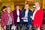 Enjoying theBallybunion Fashion Show in aid of  St Joseph's Secondary school at Tintean Theatre on Thursday were Catherine Long, Noreen Long, Angela Bunyan and Nora Costello
