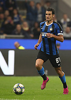 Football Soccer: UEFA Champions League -Group Stage- Group F Internazionale Milano vs Borussia Dortmund, Giuseppe Meazza stadium, October 23, 2019.<br /> Inter's Antonio Candreva is going to score during the Uefa Champions League football match between Internazionale Milano and Borussia Dortmund at Giuseppe Meazza (San Siro) stadium, on October 23, 2019.<br /> UPDATE IMAGES PRESS/Isabella Bonotto