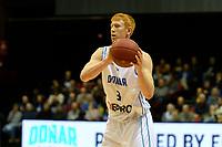 GRONINGEN - Basketbal, Donar - Dinamo Sassari, Martiniplaza, Europe Cup, seizoen 2018-2019, 12-12-2018,  Donar speler Jobi Wall