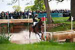 Badminton, Gloucestershire, United Kingdom, 4th May 2019, David Britnell riding Continuity during the Cross Country Phase of the 2019 Mitsubishi Motors Badminton Horse Trials, Credit:Jonathan Clarke/JPC Images