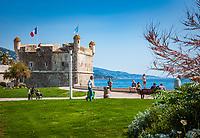 Frankreich, Provence-Alpes-Côte d'Azur, Menton: Museum Jean Cocteau in der ehemaligen Bastion | France, Provence-Alpes-Côte d'Azur, Menton: Museum Jean Cocteau in the Bastion of the port of Menton
