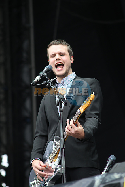 White Lies at Slane Concert 2011..(Photo credit should read Jenny Matthews www.newsfile.ie)....This Picture has been sent you under the conditions enclosed by:.Newsfile Ltd..The Studio,.Millmount Abbey,.Drogheda,.Co Meath..Ireland..Tel: +353(0)41-9871240.Fax: +353(0)41-9871260.GSM: +353(0)86-2500958.email: pictures@newsfile.ie.www.newsfile.ie.