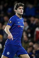 Marcos Alonso of Chelsea during Chelsea vs Dynamo Kiev, UEFA Europa League Football at Stamford Bridge on 7th March 2019