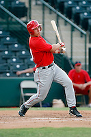 Mike Trout - AZL Angels - 2009 Arizona League.Photo by:  Bill Mitchell/Four Seam Images..