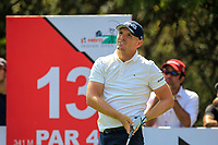 Matt Wallace (ENG) in action on the 13th during Round 4 of the Hero Indian Open at the DLF Golf and Country Club on Sunday 11th March 2018.<br /> Picture:  Thos Caffrey / www.golffile.ie<br /> <br /> All photo usage must carry mandatory copyright credit (&copy; Golffile | Thos Caffrey)