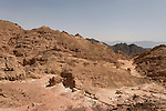 Israel, Eilat Mountains. Wadi Yoash