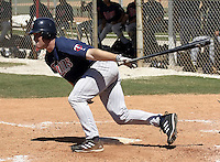 March 31, 2004:  Lew Ford of the Minnesota Twins organization during Spring Training at Dunedin Stadium in Dunedin, FL.  Photo copyright Mike Janes/Four Seam Images