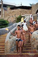 Acapulco divers at La Quebrada, Acapulco, Guerrero, Mexico