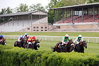 10.05.2020, Hoppegarten, Brandenburg, Germany;  Rubaiyat with Andrasch Starke up wins the Dr Busch Memorial, which,  because of the corona pandemic was without spectators  JPG