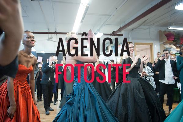 Nova Iorque, EUA &ndash; 02/2014 - Desfile de Zac Posen durante a Semana de moda de Nova Iorque - Inverno 2014. <br /> Foto: FOTOSITE