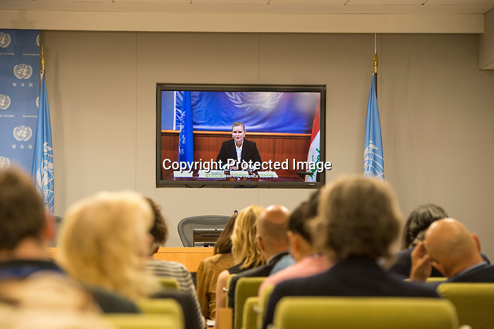 Noon Briefing by the Spokesperson for the Secretary-General<br /> Guest: Ms. Lise Grande, UN Resident and Humanitarian Coordinator for Iraq (via VTC from Baghdad)