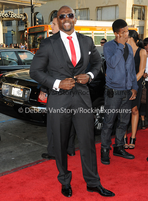 Terry Crews at the Warner Bros' Pictures World Premiere of Lottery Ticket held at The Grauman's Chinese Theatre in Hollywood, California on August 12,2010                                                                               © 2010 Debbie VanStory / Hollywood Press Agency