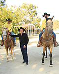 LOS ANGELES - AUG 27: Clay Walker, Security at the Clay Walker Country at the Downs concert  at Galway Downs on August 27, 2017 in Temecula, California