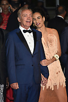 "Udo Kier and Barbara Colen attend the screening of ""Bacurau"" during the 72nd annual Cannes Film Festival on May 15, 2019 in Cannes, France.2019. <br /> CAP/PL<br /> ©Phil Loftus/Capital Pictures"