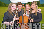 Performing in the Young Musician of the Year concert in Muckross House on Thursday evening were quartet Alice O'Connor, Conor Cremin, Stephanie Nolan and Katie McAulliffe.....