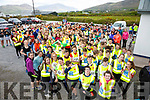 Colaiste na Sceilge Students, Staff and Parents taking part in the annual 5K Fun Run/Walk on Friday afternoon pictured here at the Renard GAA grounds.