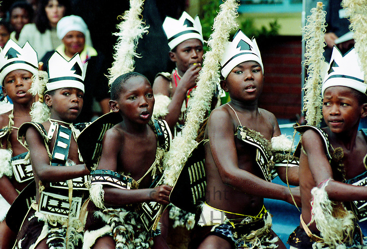 Youngsters dancing in the Alexandra Township, Johannesburg, South Africa