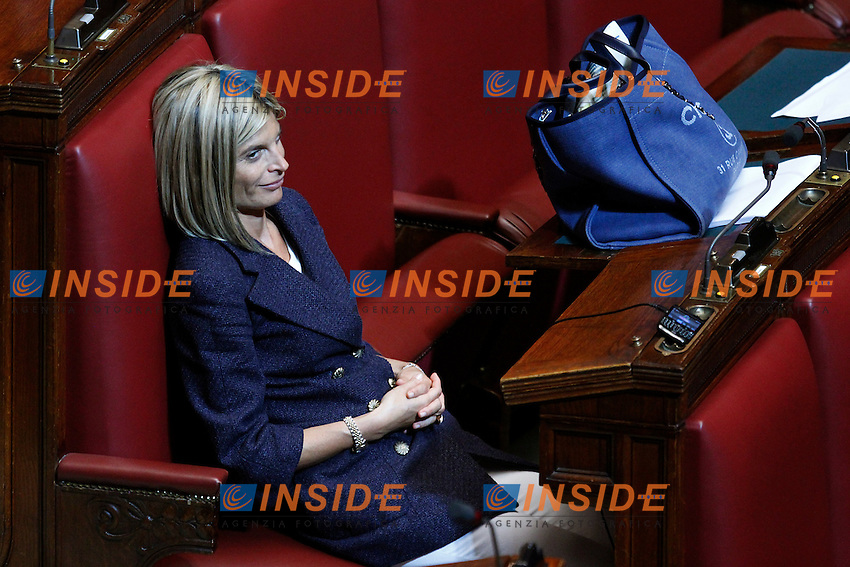 Laura Ravetto.Roma 13/06/2012  Camera dei Deputati - Voto di  fiducia sulle norme sulla corruzione nella pubblica amministrazione.Foto Serena Cremaschi Insidefoto