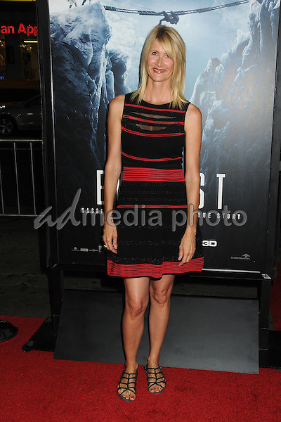 """9 September 2015 - Hollywood, California - Laura Dern. """"Everest"""" Los Angeles Premiere held at the TCL Chinese Theatre. Photo Credit: Byron Purvis/AdMedia"""