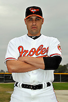 Feb 27, 2010; Tampa, FL, USA; Baltimore Orioles  pitcher Michael Gonzalez (51) during  photoday at Ed Smith Stadium. Mandatory Credit: Tomasso De Rosa