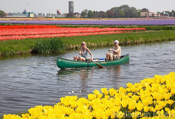 Varen tussen de tulpen