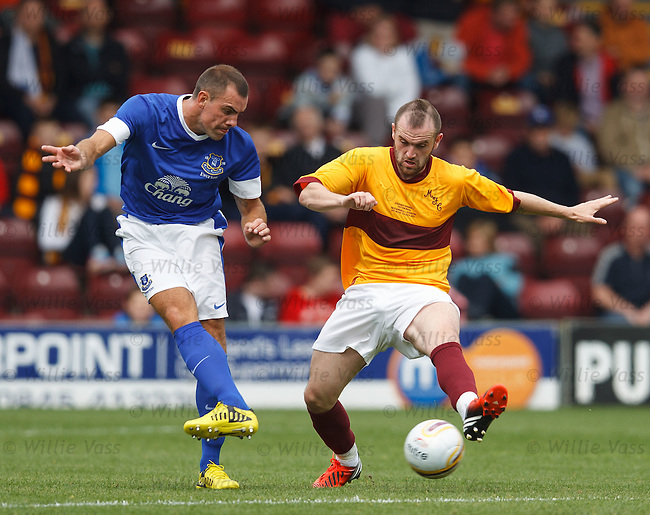 Darron Gibson and James McFadden