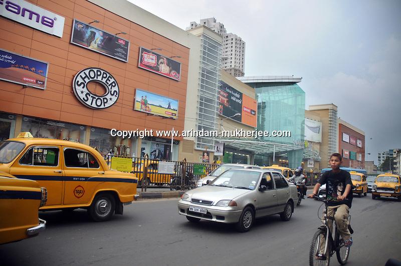 Traffic in Calcutta
