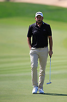 David Howell (ENG) on the 10th green during the final round of  the Saudi International powered by Softbank Investment Advisers, Royal Greens G&CC, King Abdullah Economic City,  Saudi Arabia. 02/02/2020<br /> Picture: Golffile | Fran Caffrey<br /> <br /> <br /> All photo usage must carry mandatory copyright credit (© Golffile | Fran Caffrey)