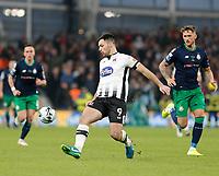 3rd November 2019; Aviva Stadium, Dublin, Leinster, Ireland; FAI Cup Final Football, Dundalk Football Club versus Shamrock Rovers; Patrick Hoban on the ball for Dundalk - Editorial Use