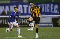 Jack Powell of Maidstone United in action during Maidstone United vs Oldham Athletic, Emirates FA Cup Football at the Gallagher Stadium on 1st December 2018