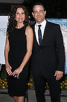 "HOLLYWOOD, LOS ANGELES, CA, USA - MAY 01: Minnie Driver, Paul Adelstein at the Los Angeles Premiere Of Lifetime Television's ""Return To Zero"" held at Paramount Studios on May 1, 2014 in Hollywood, Los Angeles, California, United States. (Photo by Xavier Collin/Celebrity Monitor)"
