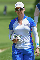 Karrie Webb (AUS) makes her way to the tee on 11 during round 1 of the 2018 KPMG Women's PGA Championship, Kemper Lakes Golf Club, at Kildeer, Illinois, USA. 6/28/2018.<br /> Picture: Golffile | Ken Murray<br /> <br /> All photo usage must carry mandatory copyright credit (&copy; Golffile | Ken Murray)