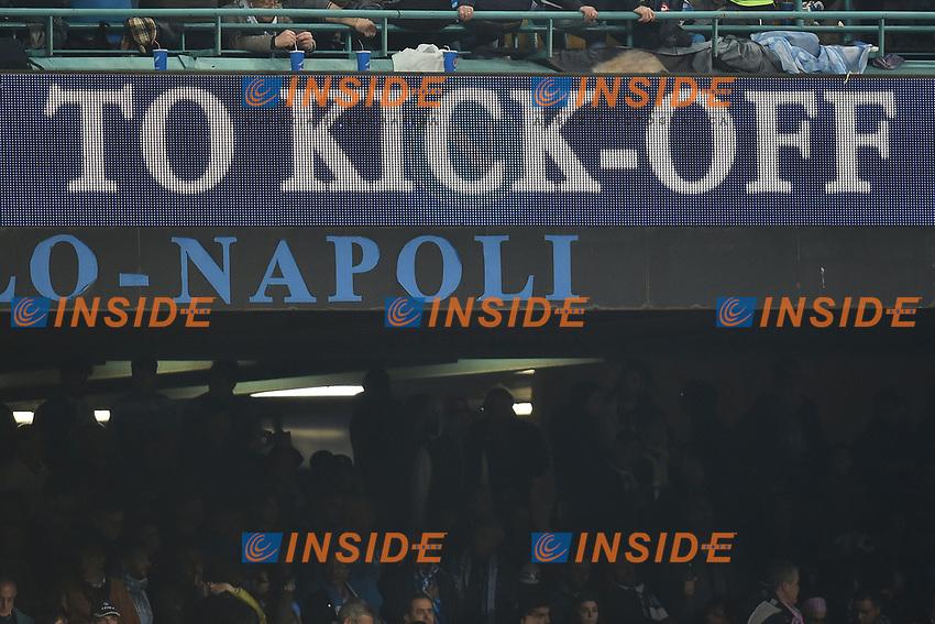 Kick Off <br /> Napoli 05-04-2017 Stadio San Paolo Football <br /> Calcio Coppa Italia 2016/2017 Semifinale Napoli - Juventus Foto Andrea Staccioli / Insidefoto