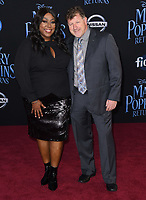 29 November 2018 - Hollywood, California - Loni Love, James Welsh. &quot;Mary Poppins Returns&quot; Los Angeles Premiere held at The Dolby Theatre.   <br /> CAP/ADM/BT<br /> &copy;BT/ADM/Capital Pictures