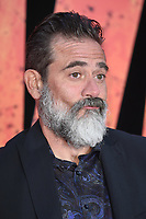 Jeffrey Dean Morgan arriving for the &quot;Rampage&quot; premiere at the Cineworld Empire Leicester Square, London, UK. <br /> 11 April  2018<br /> Picture: Steve Vas/Featureflash/SilverHub 0208 004 5359 sales@silverhubmedia.com