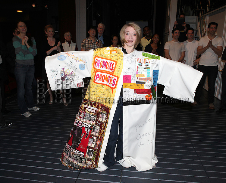 Opening Night Performance Gypsy Robe Ceremony for Recipient Joyce Chittick for The Roundabout Theatre Company's Broadway Production of 'Anything Goes'  in New York City.