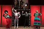 (LtoR) Artists Oriol Boixader, Fernando Soto, Tomasito and Manuel Tallafe during the performance of Chufla. September 25, 2019. (ALTERPHOTOS/Johana Hernandez)