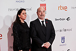 Antonio Resines and Marisol de Mateo attends to XXV Forque Awards at Palacio Municipal de Congresos in Madrid, Spain. January 11, 2020. (ALTERPHOTOS/A. Perez Meca)