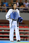 Mayu Hamada (JPN), OCTOBER 8, 2013 - Taekwondo : Tianjin 2013 the 6th East Asian Games, Women's -57kg final at Dongjuzi Gymnasium, Tianjin, China. (Photo by AFLO SPORT)
