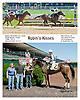 Robin's Kisses winning at Delaware Park on 9/4/13