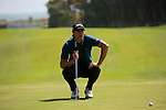 Nicolas Colsaerts (BEL) in action on the 15th gren during Day 1 Thursday of the Open de Andalucia de Golf at Parador Golf Club Malaga 24th March 2011. (Photo Eoin Clarke/Golffile 2011)