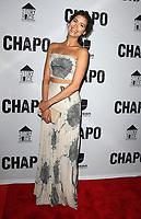 19 April 2017 - Los Angeles, California - Abril Schreiber. Univision's 'El Chapo' Original Series Premiere Event held at The Landmark Theatre. Photo Credit: AdMedia
