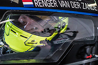 DAYTONA BEACH, FL - JAN 24: Renger van der Zande, of the Netherlands, sits in his car before the Rolex 24 at Daytona at Daytona International Speedway, Daytona Beach, Florida,  January 24, 2020. (Photo by Brian Cleary/BCPix.com)