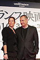 March 18, 2010 - Tokyo, Japan - Director Jean-Pierre Jeunet (R) and his wife attend the French Film Festival 2010 Opening Ceremony at Roppongi Hills on March 18, 2010 in Tokyo, Japan. (Laurent Benchana/Nippon News).