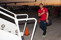 Coral Gables, Florida - February 4, 2013: US Men's National team departing for Honduras.