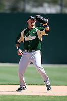 February 20, 2009:  First baseman Brandon Smith (2) of the University of South Florida during the Big East-Big Ten Challenge at Jack Russell Stadium in Clearwater, FL.  Photo by:  Mike Janes/Four Seam Images