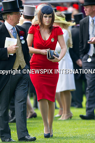"ROYAL ASCOT 2011 DAY 5..Princess Eugenie presents the Chesham Stakes cup on the final day at Royal Ascot_18/06/2011..Mandatory Photo Credit: ©Dias/Newspix International..**ALL FEES PAYABLE TO: ""NEWSPIX INTERNATIONAL""**..PHOTO CREDIT MANDATORY!!: NEWSPIX INTERNATIONAL(Failure to credit will incur a surcharge of 100% of reproduction fees)..IMMEDIATE CONFIRMATION OF USAGE REQUIRED:.Newspix International, 31 Chinnery Hill, Bishop's Stortford, ENGLAND CM23 3PS.Tel:+441279 324672  ; Fax: +441279656877.Mobile:  0777568 1153.e-mail: info@newspixinternational.co.uk"